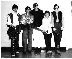 Sweet Rooster�.from left to right are me with a 1969 Les Paul Custom, Ken Lyons (original 38 Special bassist with a Gibson EB-3), Bill Pelky (drummer and neiborhood friend), Donnie Van-Zant, and Kevin Elson (keyboards and rhythm guitar).  Kevin was a survivor of the Skynyrd plane crash and went on to produce Journey, Mr. Big, and Europe to name a few as well as doing live audio for Michael Jackson and Madonna.